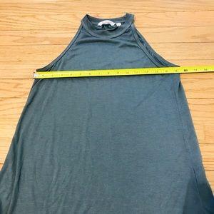 Athleta Tops - Athleta high-neck rib tank in jasper green, XS.
